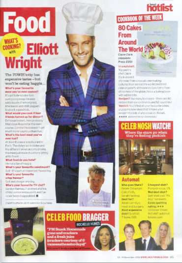 RT @The_CAN_Group: Be sure to pick up @heatworld magazine this week and check out the feature of @elliottwright_ chef hat and all! http://t…
