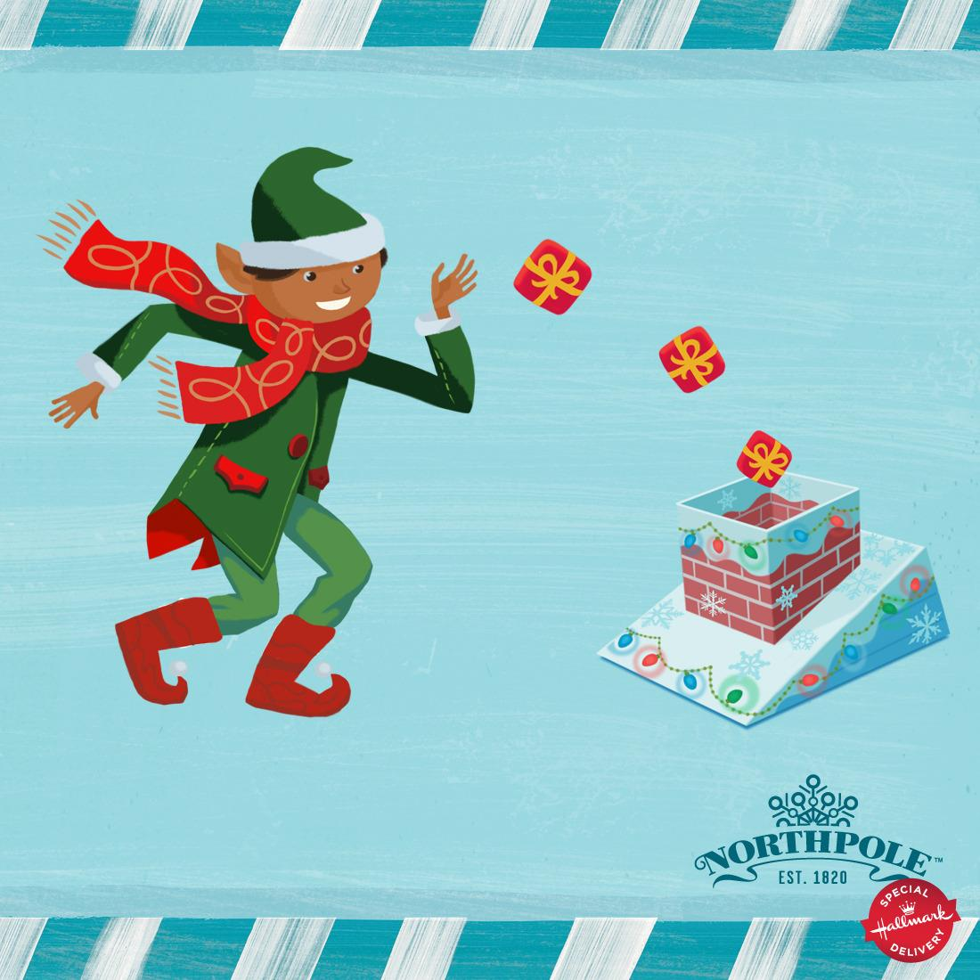 Christmas beanbag toss? Yes, please! RT for chance to #win a #Northpole Rooftop Drop game: http://t.co/J2Ofkv1Urs http://t.co/ZlkDtCiWJ7