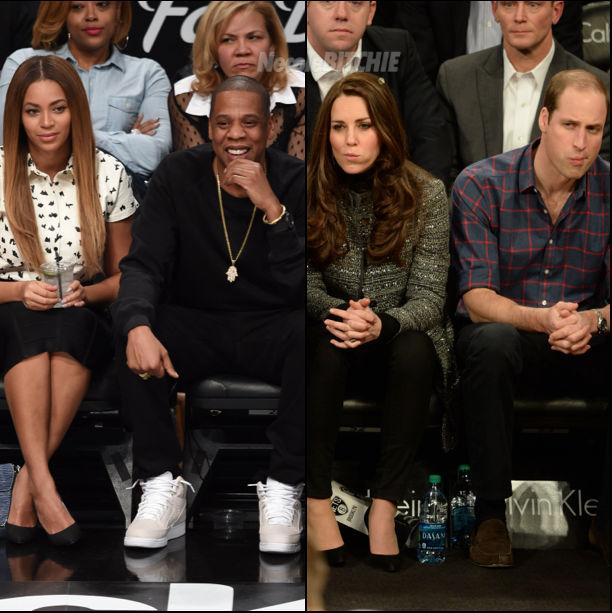 """""""@necolebitchie: Jay Z And Beyonce Meet The Royal Couple http://t.co/Q0VvcuhRgP http://t.co/DgIVdvsHqd"""" This Is Very #Dazzling!!!"""