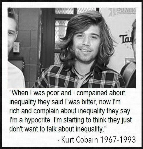 Kurt Cobain Quotes on Twitter: \