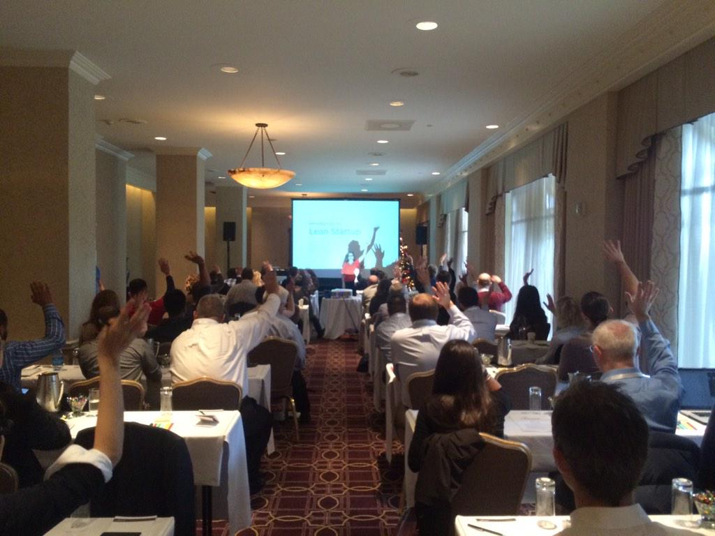 And @clevergirl is off! Lean Startup 101 workshop looking great! #LeanStartup http://t.co/kfdq68QN50