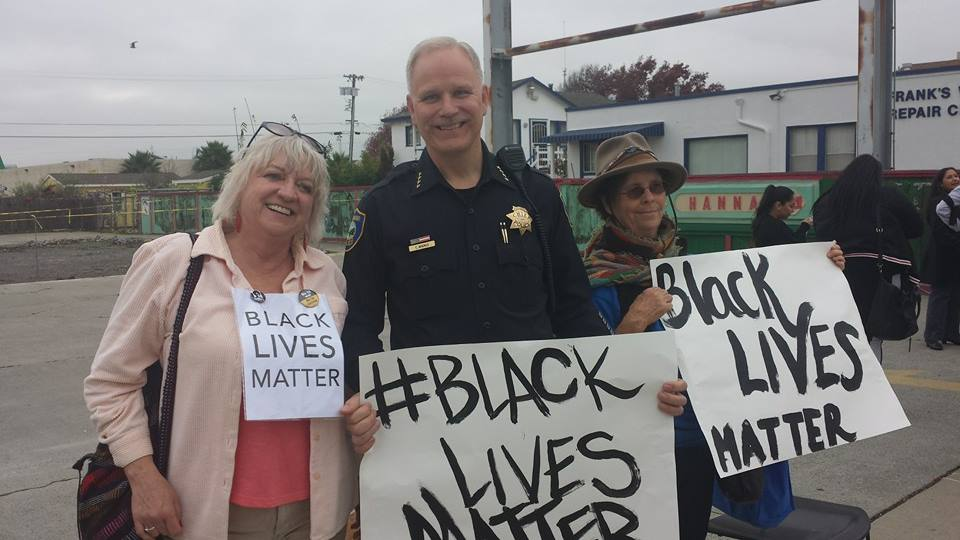 Action today in @CA_Richmond with our own Police Chief Chris Magnus  #BlackLivesMatter #PositivePoliceResponse http://t.co/OCaVlXQdW4