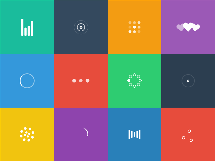 Pure SVG animated loaders http://t.co/Cpcsr3H5Bz by @Sherb http://t.co/vEdHfg1lhC