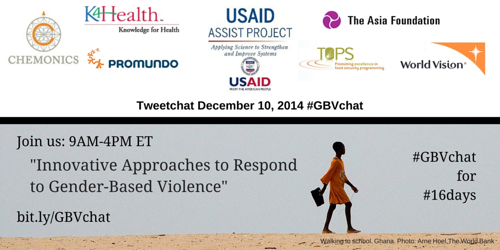 Thumbnail for #GBVChat: Using Improvement to Respond to Gender-Based Violence