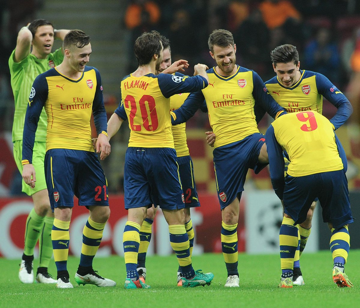 Arsenal defeated Galatasaray 4-1 on Tuesday. Image: Arsenal.com