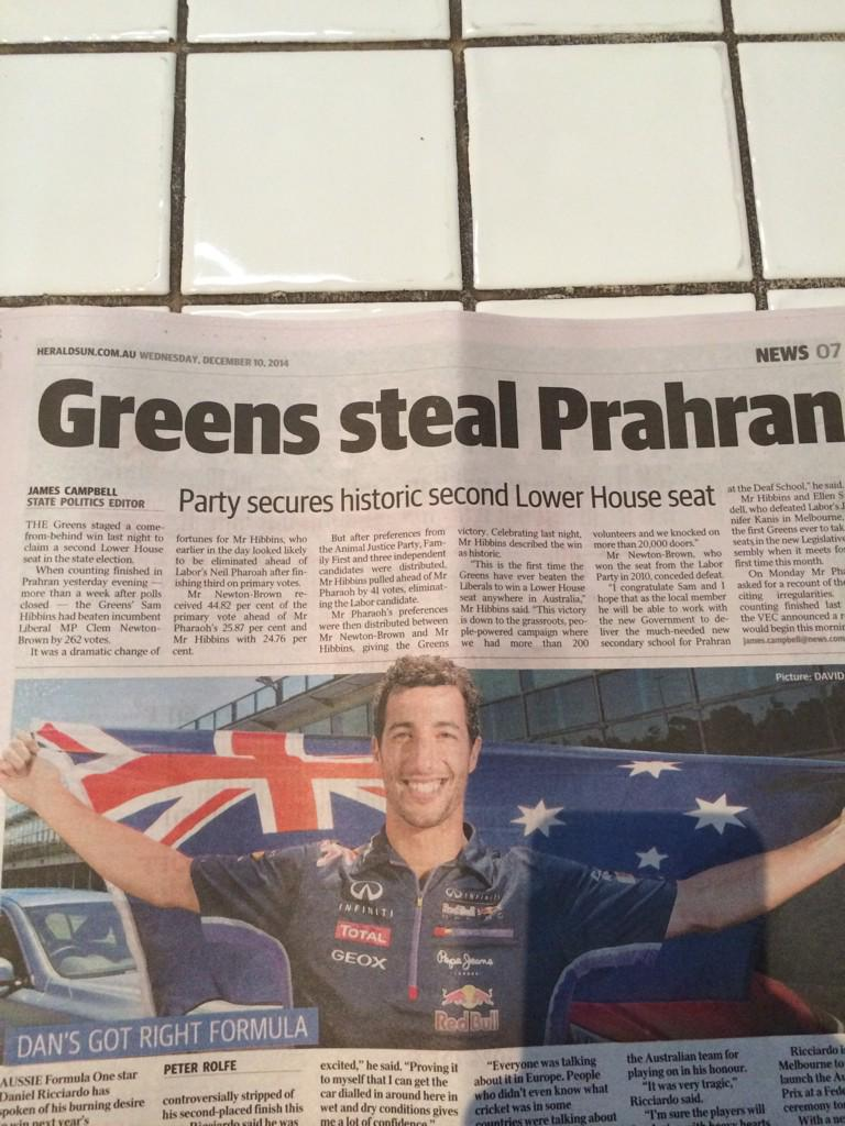 Steal, win...whatever. You stay classy @theheraldsun http://t.co/vInP2AwYnO