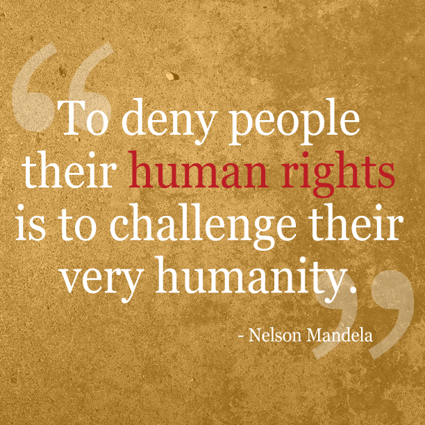 Today, we stand together to recognize, respect & protect the rights of every human. #HumanRightsDay http://t.co/6jkz1syQSw