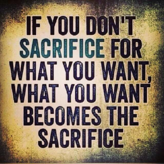 """Sacrifice Status: Lara Rininger, CHHC On Twitter: """"What Are You Willing To"""