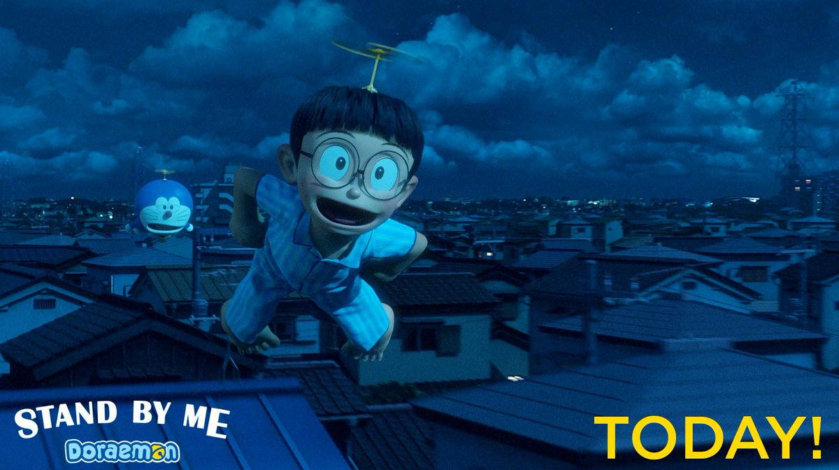 Today Premiere!! DORAEMON STAND BY ME