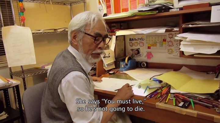 Watch Hayao Miyazaki Animate The Last Shot of His Final Film  http://t.co/g7tpuMfgwR — http://t.co/PO4MfgE0a3