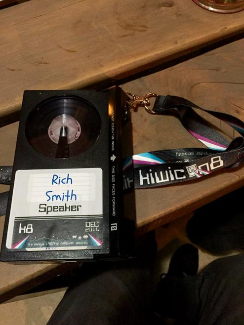 KiwiCon 8 Badge