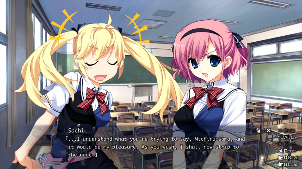 More I read #Grisaia, more I think the anime could've been good w 2 cours. Spending so much time w characters is key. http://t.co/LtTEDFbjWj