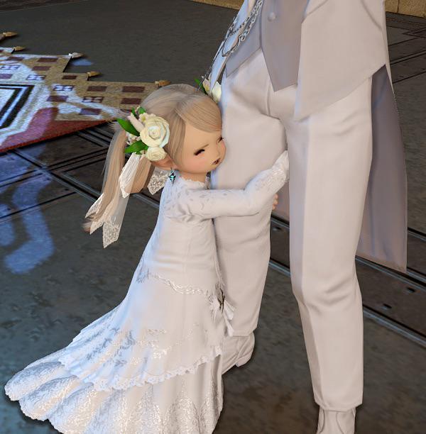 FF14で結婚システム実装されると聞いたが、これ大丈夫なんすかね pic.twitter.com/cYXZSoNATA