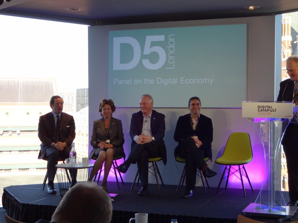 """""""You talk about a digital economy. There is no other economy and no alternative now."""" @NeelieKroesEU #D5London http://t.co/76EtLsjhEu"""
