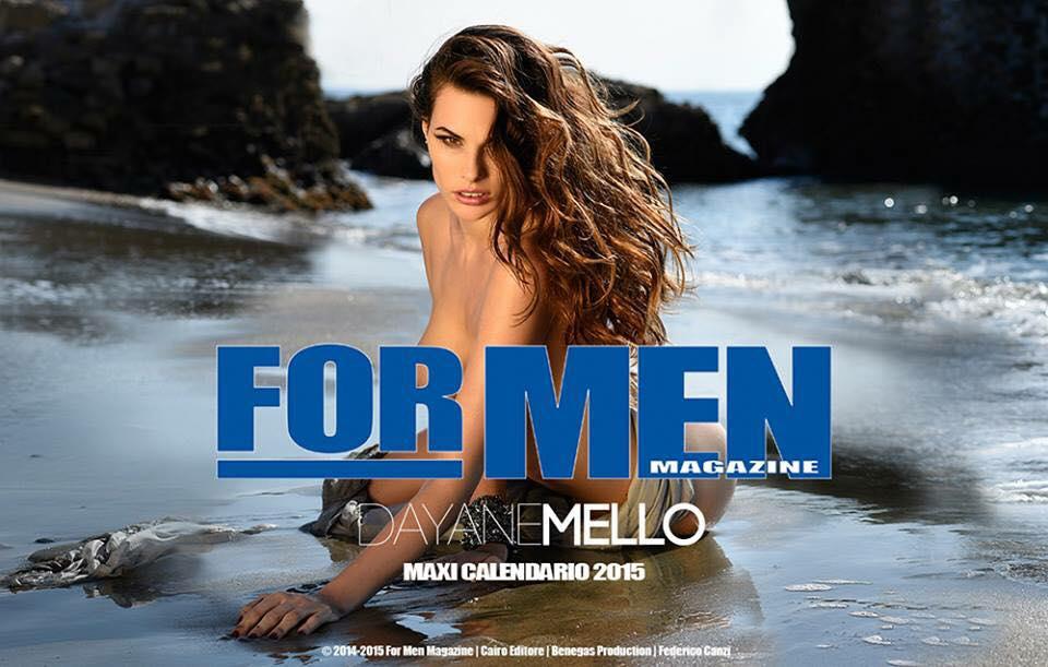 For Men Calendario.Joax On Twitter Dayane Mello Nuda Per Il Calendario For