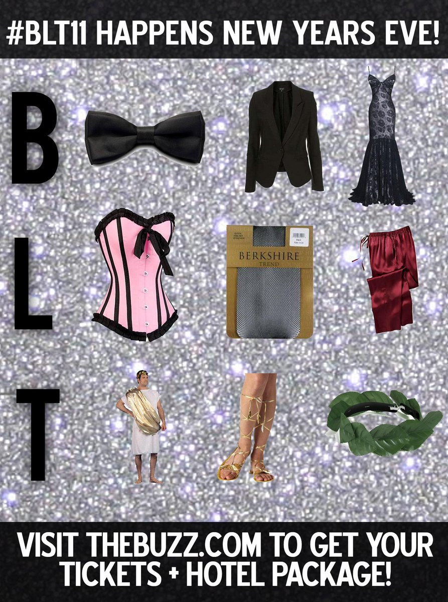 """""""RT This To Win A Pair Of #BLT11 Tix To Hang With Us On NYE! We'll Pick a Random RT-er at 9:30!"""" http://t.co/AoyzuVGmNa"""