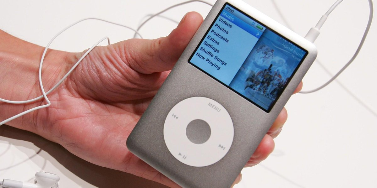 iPod Classics are selling for as much as $900 now