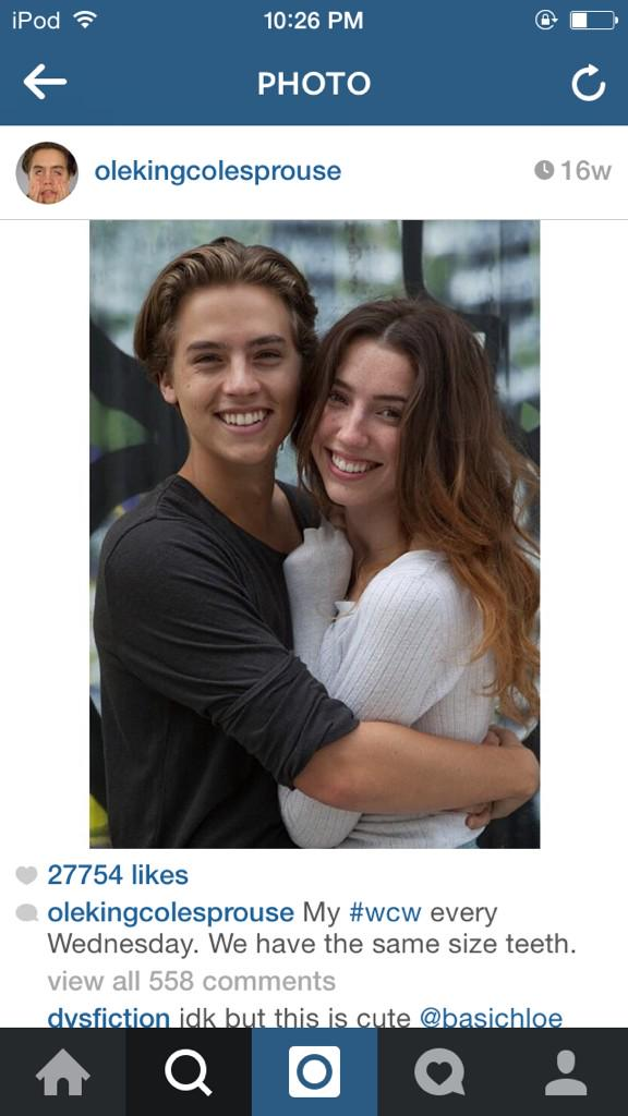 Dylan And Cole Sprouse 2014 Girlfriends Vivien Nelsen �...