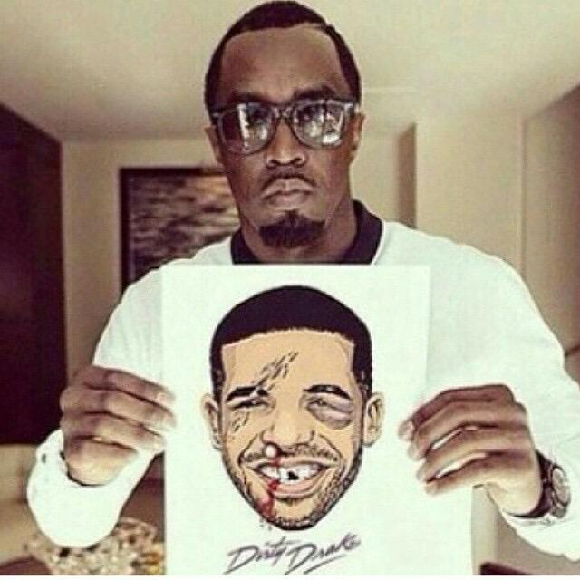 Diddy has NO CHILL
