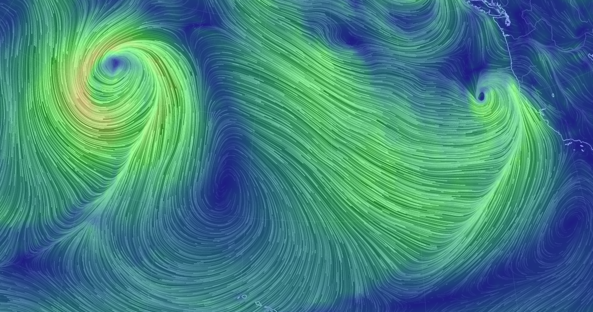 Nws Bay Area On Twitter Cool Wind Map Valid Thurs Am Clearly