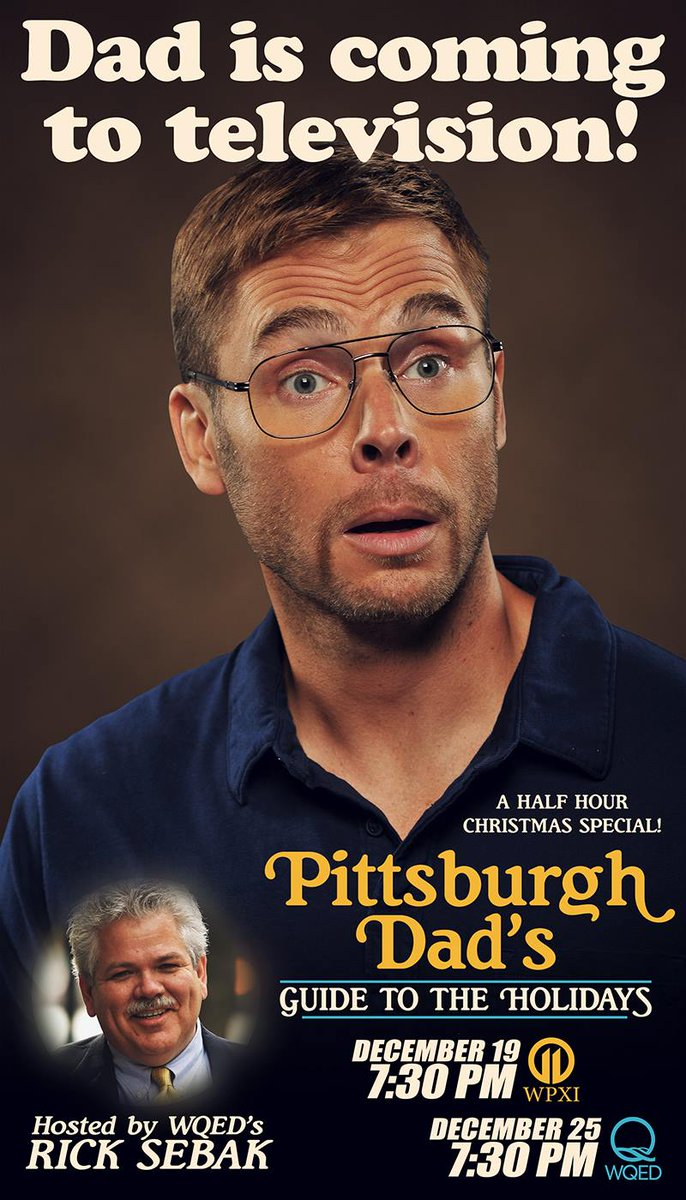 What are you doing after dinner on Christmas night? Watching the @Pittsburgh_Dad Christmas Special on @wqed at 7:30! http://t.co/yW614xTXwa