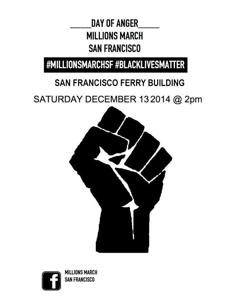 Day of Anger Millions March San Francisco &Oakland @ San Francisco Ferry Building, Chelsea Manning Plaza | San Francisco | California | United States