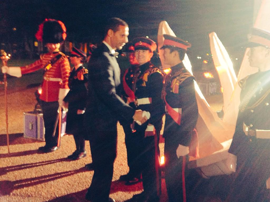 The Military Awards this evening in Greenwich! Inspirational... #themillies http://t.co/hP9QatYqJY