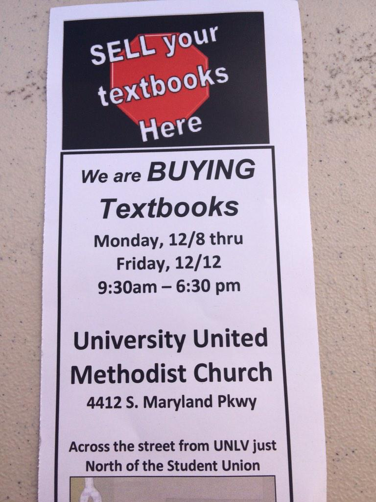 Unlv Book Buy Back Unlvbookbuyback Twitter Sell back textbooks, sell used books, sell college textbooks. twitter