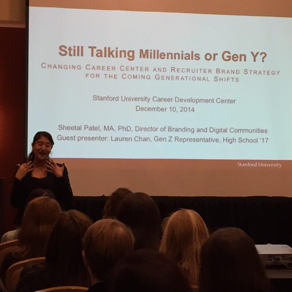 Brand = interaction + experience! Sheetal Patel teaching branding at #MPACE14 @stanfordcdc http://t.co/3U62jd3a7l