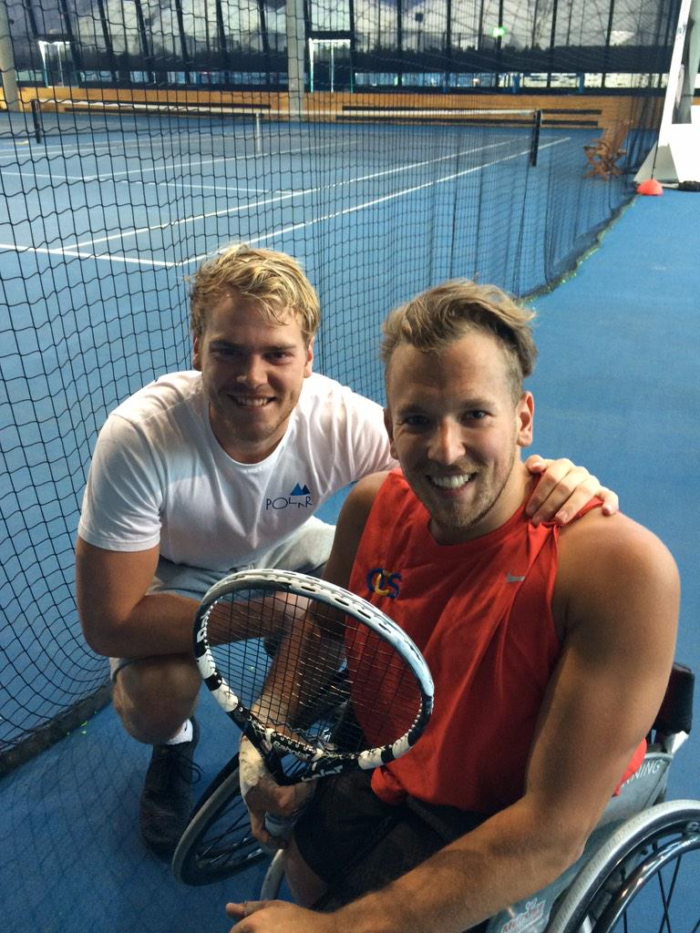 Get around this legend attempting a world record of 24hours of tennis, all for a great cause #dylans24tennis http://t.co/L8gk6Db2Ot