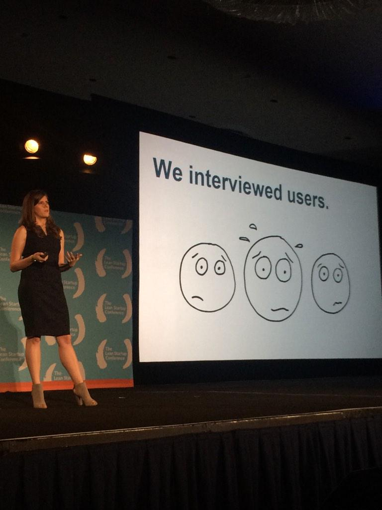 Check out @lgilchrist speaking about shipping imperfect products! #LeanStartup http://t.co/AchdUhUc0M