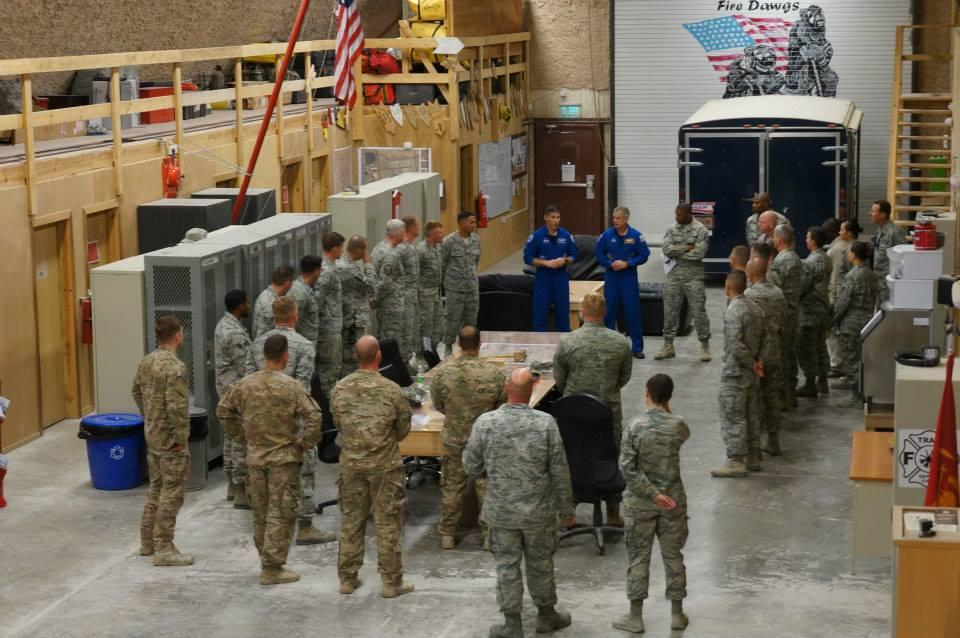 Touring with American300 in Middle East. Enjoyed chance to visit with service men & women in small unit settings. http://t.co/w7rGhdw0o9