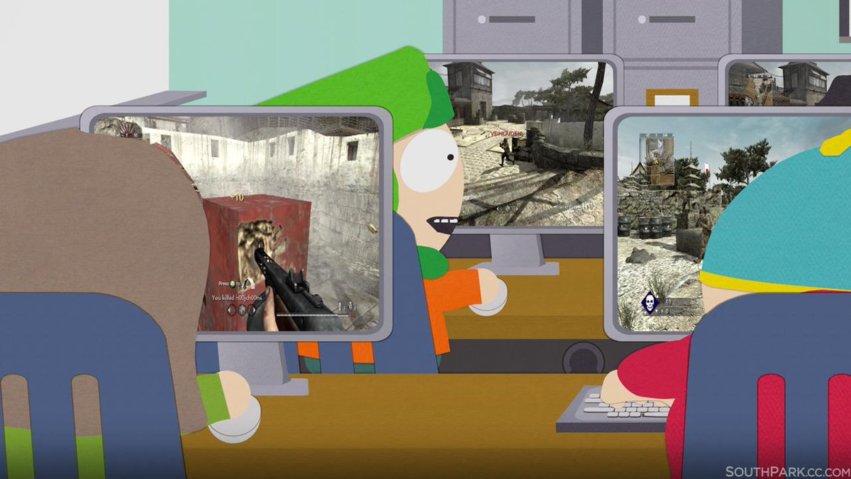 """South Park on Twitter: """"#Throwback #SouthPark The kids first got into Call  of Duty back in Season 12's """"The Ungroundable"""". http://t.co/CCGpkslifO"""""""