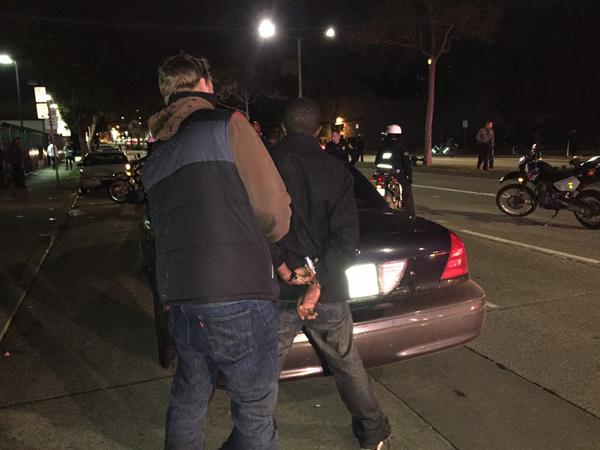 RT @TheZOMB: Another view of the undercover infiltrator arresting someone at #OaklandProtest #berkeleyprotests http://t.co/uovn2l6CRh