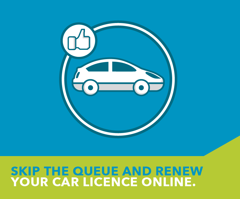 When next you need to renew your car licence, skip the queues and do it online.  http://t.co/eF6ROo1lll http://t.co/RcZ8L5B4ZW