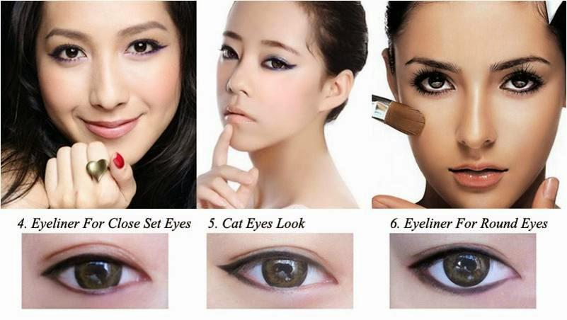 Puppy Eyes Makeup On Twitter Eye Makeup Guide For Close Set Eyes