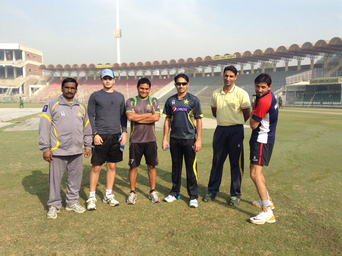 Pakistan Cricket On Twitter Realsaeedajmal Junaid Khan Abraash Khan Abdul Majeed Malang Ali Coach M Akram Before Early Morning Practice Http T Co Zirev2rerf