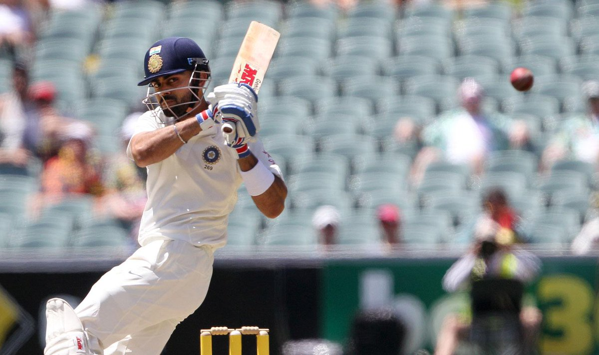 #ViratKohli becomes 3rd Indian skipper to score a century on Test captaincy debut #AusvsInd http://t.co/fra02ZXYJj http://t.co/wjwC5FaISy