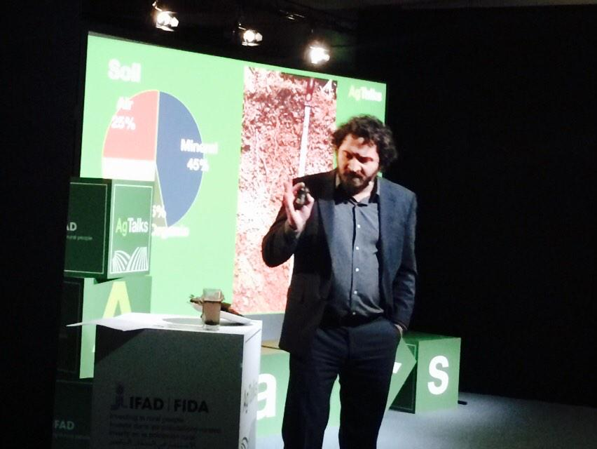 We need the scientific solution but also the wisdom of the farmers 2 solve the soil probl, P.Tittonell, #agtalks http://t.co/3sWfZaEI2K