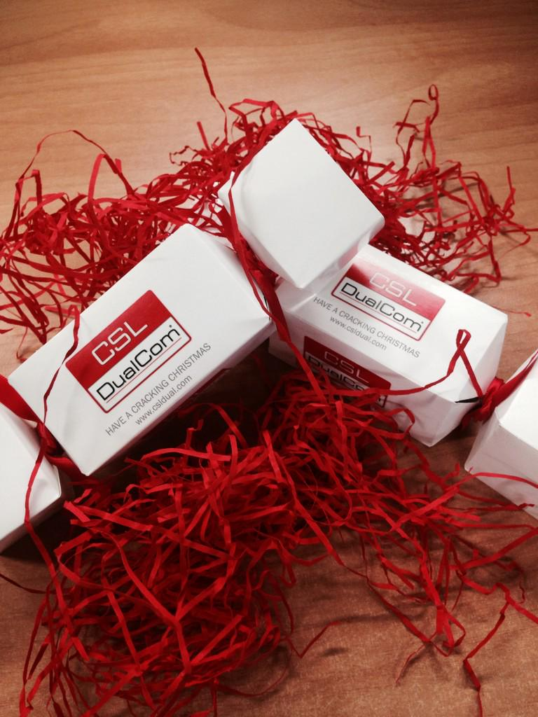 Christmas has arrived with the #IFSEC team! Thanks @CSLDualCom for the Christmas cheer http://t.co/h4ekKrSCnF
