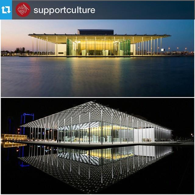 The Bahrain National Theatre recently won the 2015 architectural award for exceptional p... http://t.co/NEQfEtFLOC http://t.co/z72egoc48g