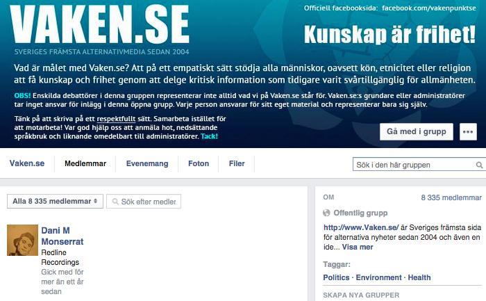 Dani M är även medlem i den konspiracistiska Vaken.se och följde förut Partiet de Fria (PDF): http://t.co/nWILAzqOBs http://t.co/GDbFpblt5M