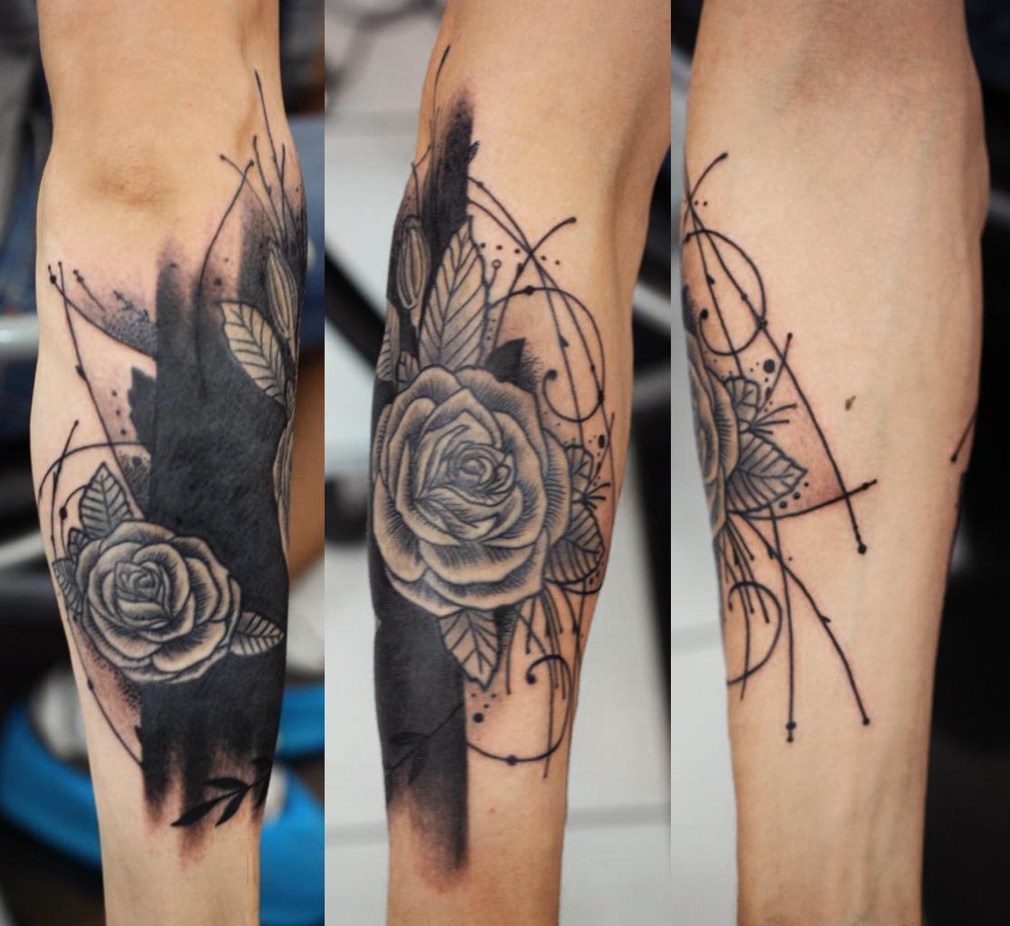 Женские татуировки на руках