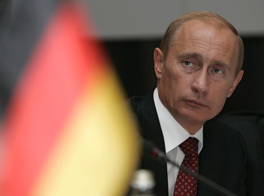 Фото Путина в Германии