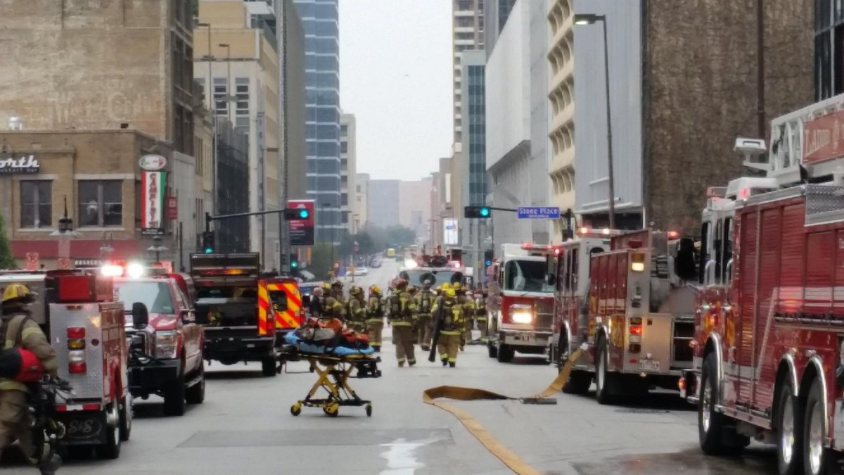 Oca Dallas On Twitter Big Response To A Reported Fire In