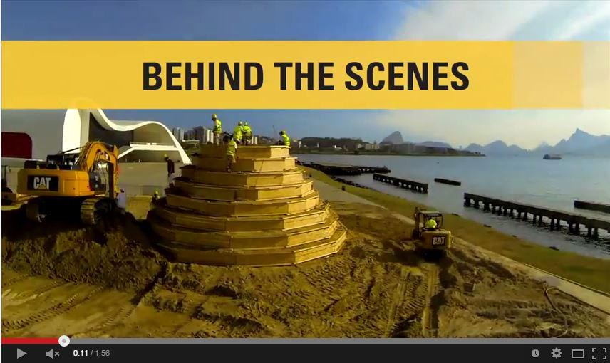 VIDEO: How @CaterpillarInc Built the World's Tallest #Sandcastle http://t.co/ggb3J2srBv  #CatSandcastle #BuiltForIt http://t.co/H4MUvt9EDs