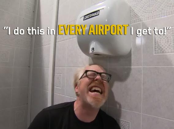 Mythbusters On Twitter Air Dryers It S Just Hot Pun Intended Get Down And Dirty In This Full Episode Http T Co Szgbnrrbjy