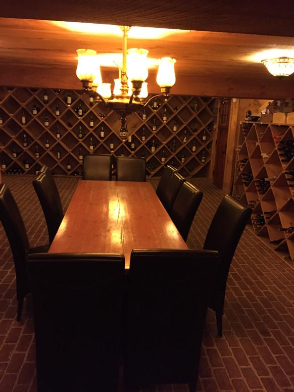Wine Cellar the Inn at @HermitageClub #MediaTour http://t.co/w2OeMGkPGg