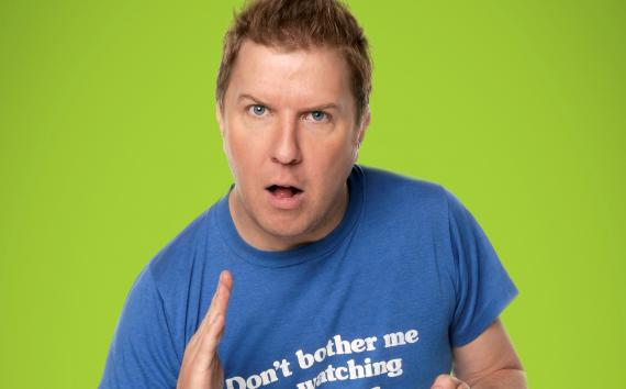 Comedian Nick Swardson will perform 1/29 in the Stroh. Tickets are $5 starting Monday at http://t.co/E3Minuuxbm http://t.co/o0Jm84rLTB