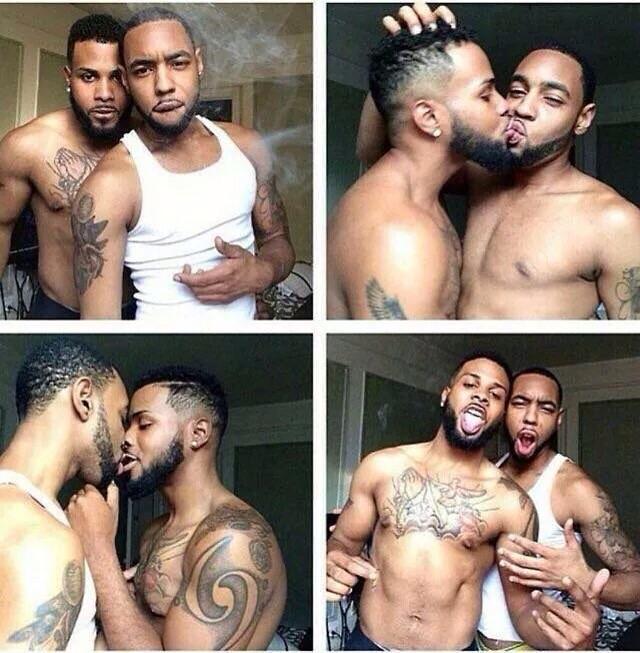 Cute black gay